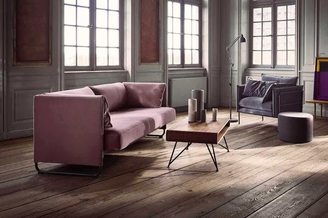 Bolia Pink Mara Sofa Insitu Haute Living