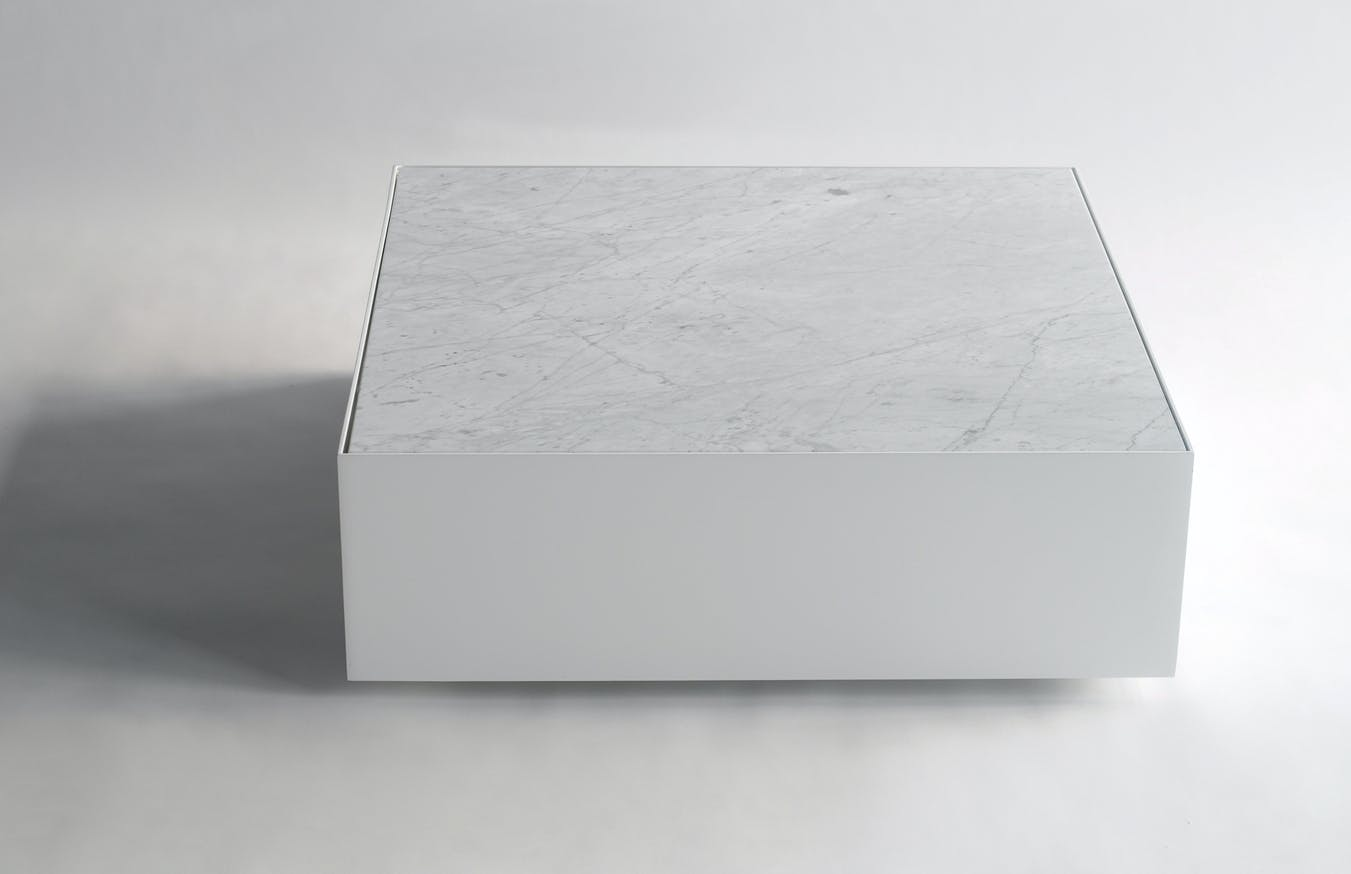 Phase Design Reza Feiz Marble Ballot Coffee Table 3