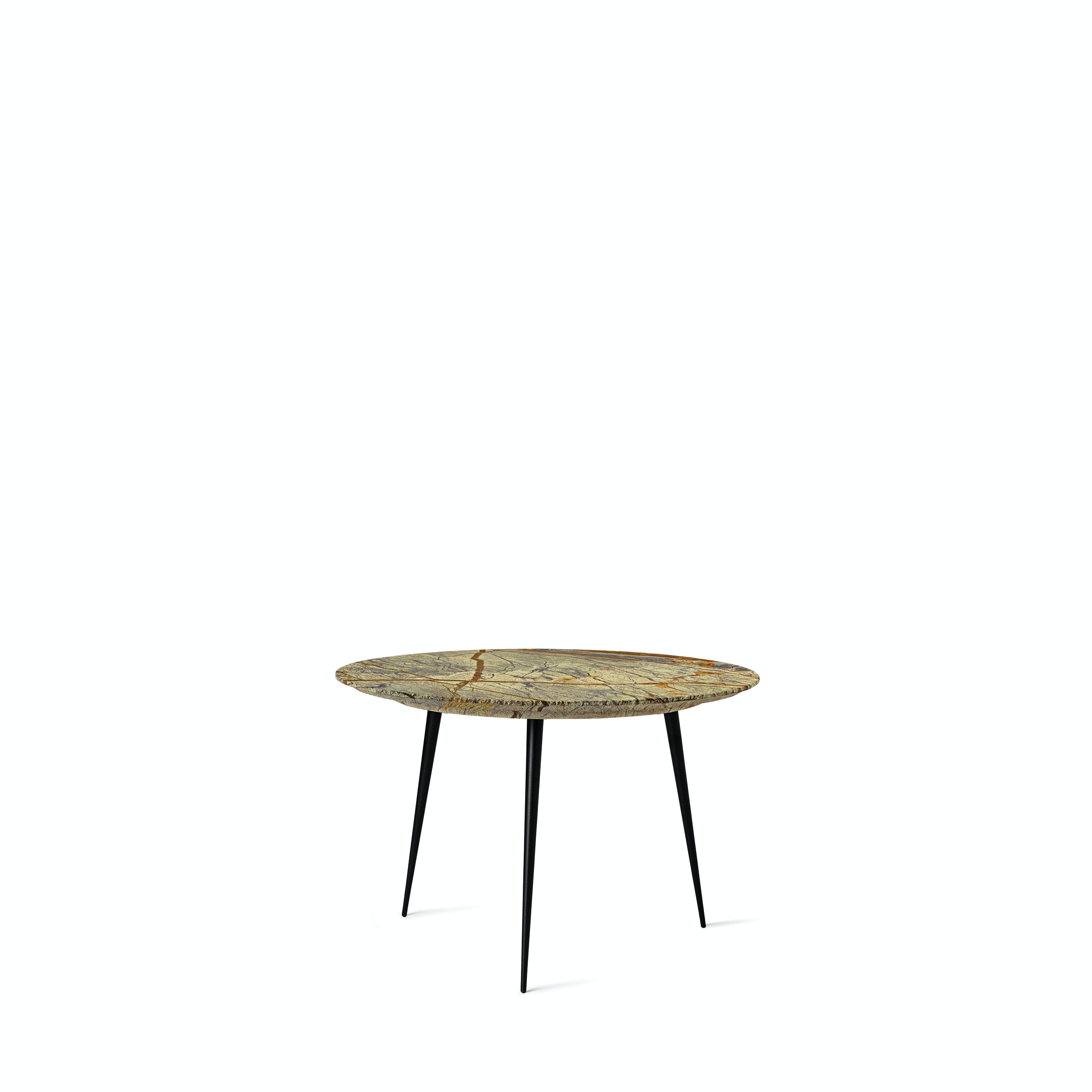 Mater Jungle Green Marble Disc Table Haute Living