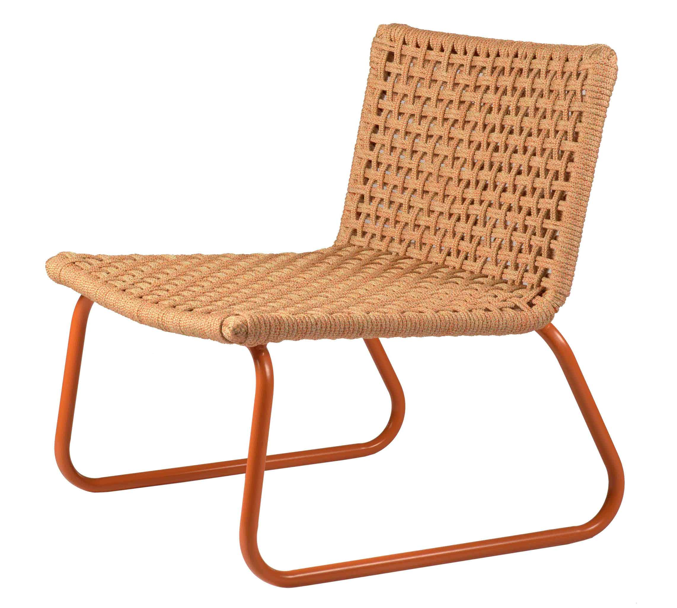 Tidelli marina lounge chair tan haute living