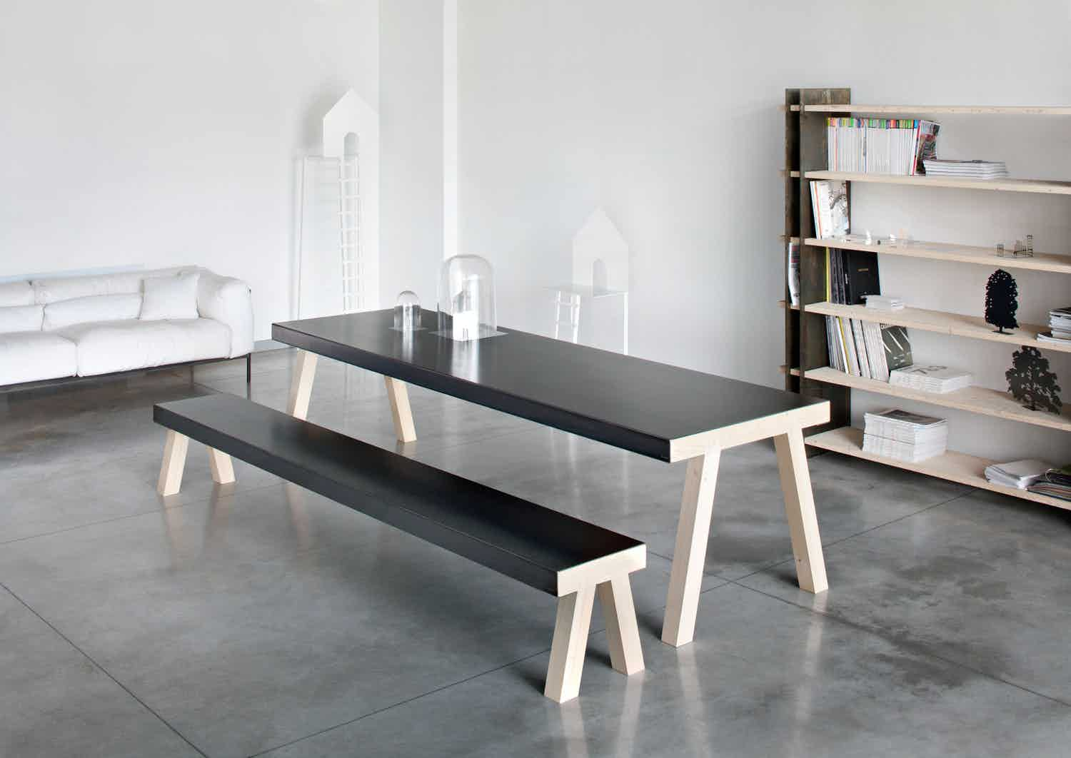 De Castelli Mastro Table Angle Haute Living