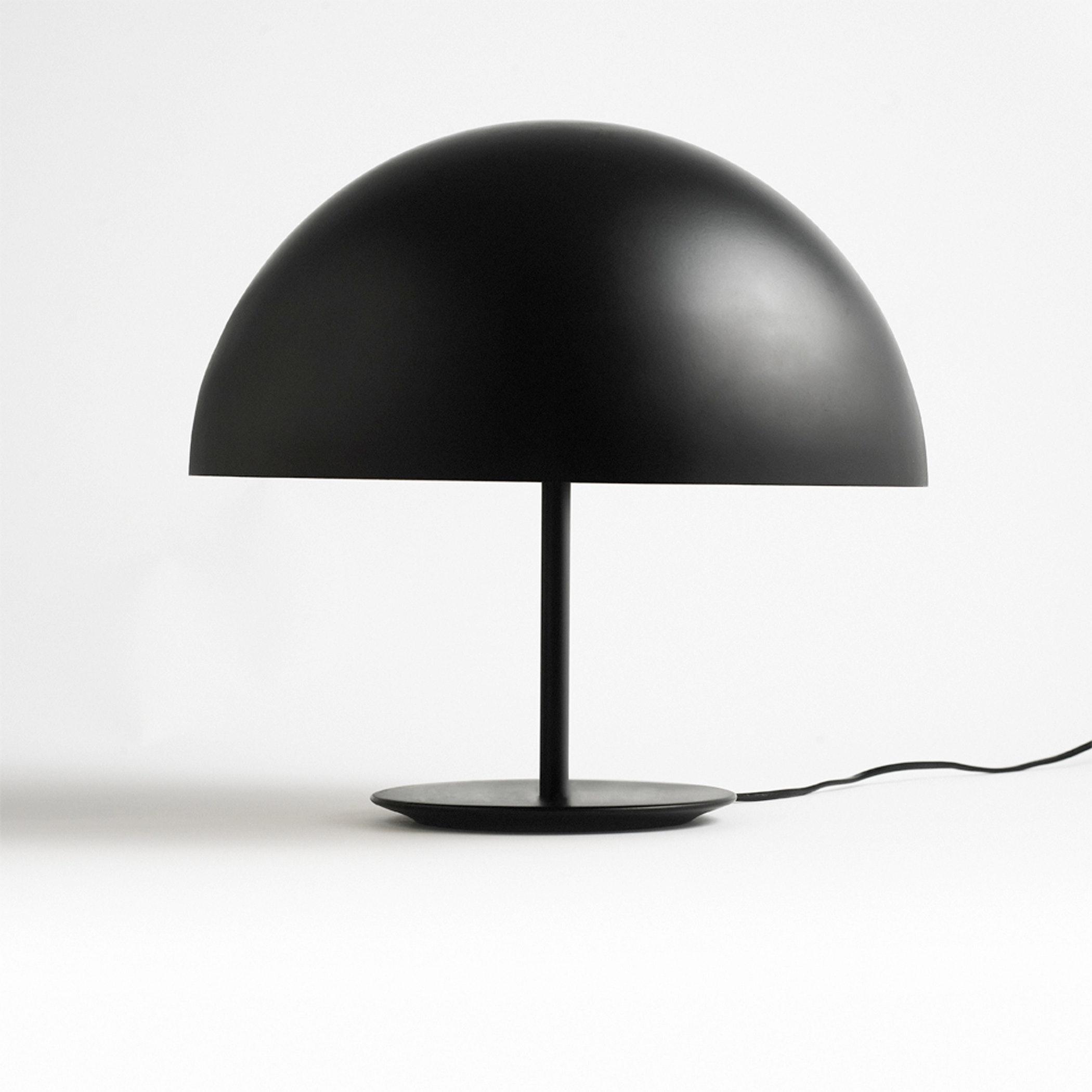 Black Dome Lamp