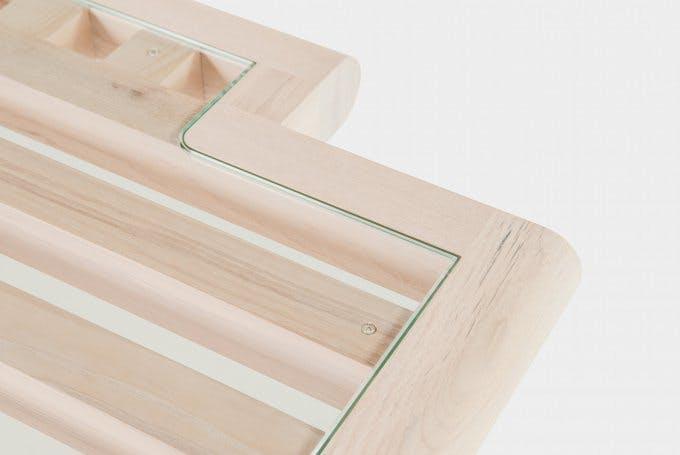 De La Espada Autoban Maze Table Detail Haute Living