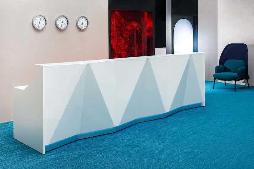Mdd furniture alpa reception desk side haute living
