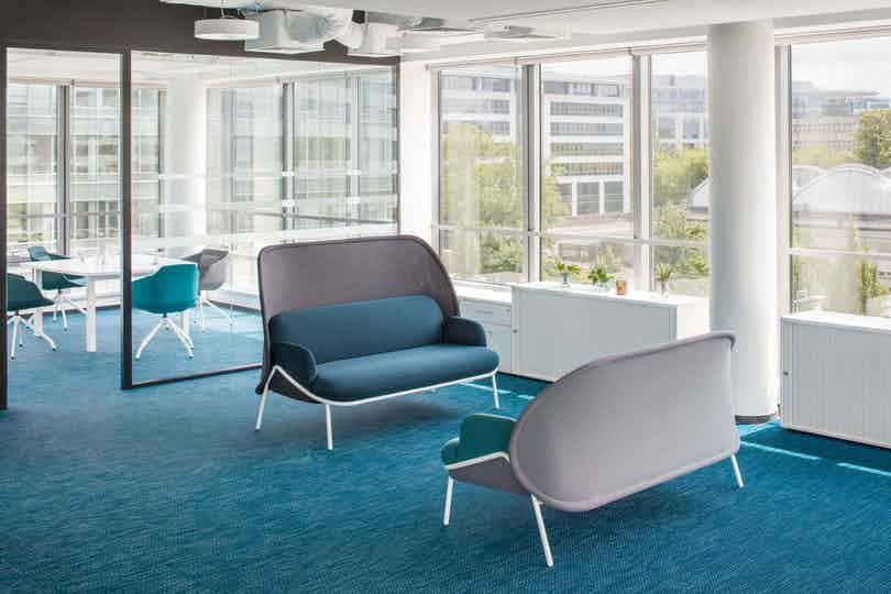 Mdd furniture mesh seating high back insitu haute living