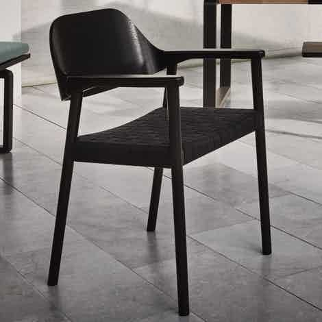 Bolia Black Mebla Dining Chair Insitu Haute Living