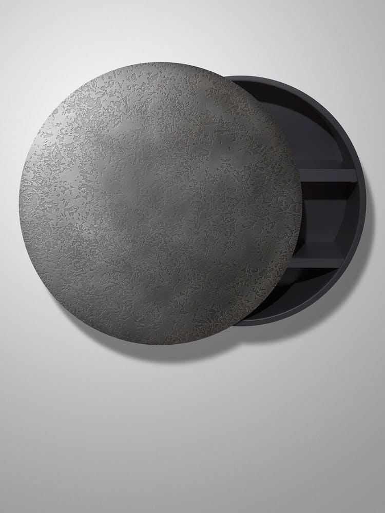 De Castelli Mida Cabinet Grey Haute Living
