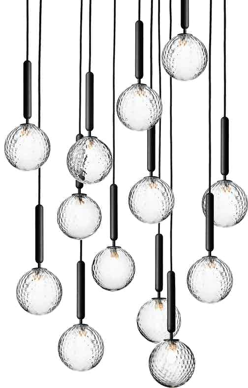 Nuura Optic Miira 13 Chandelier Thumbnail Haute Living