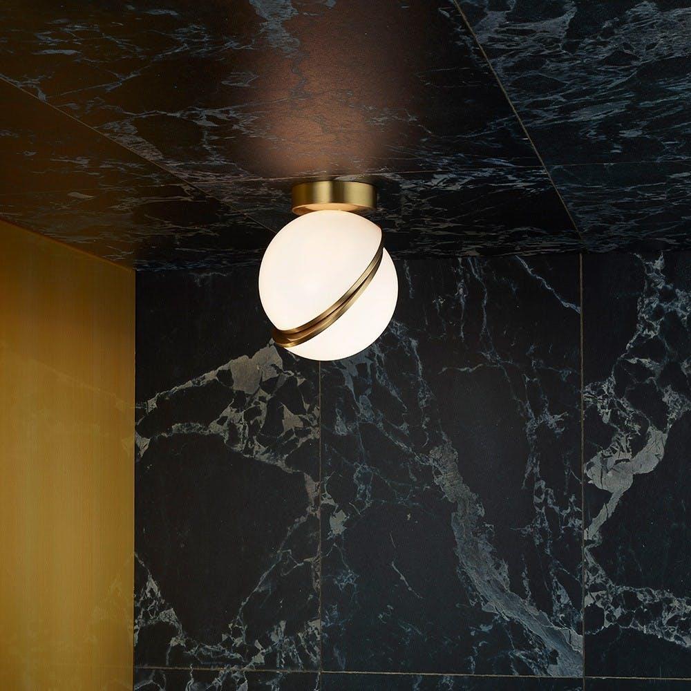 Mini Crescent Ceiling Lamp 2