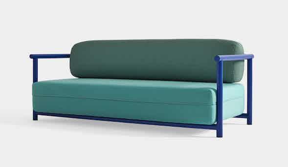 Missana bamboo sofa haute living