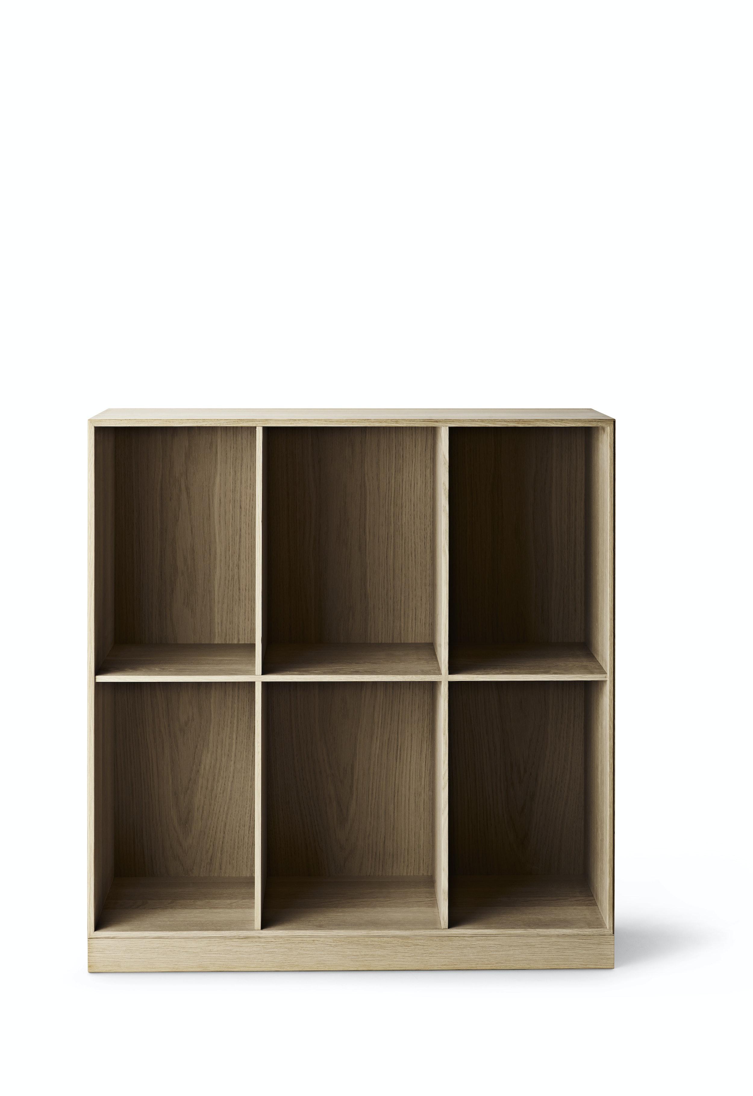... Mogens Koch Mk98400 Deep Bookcase Oak Soap
