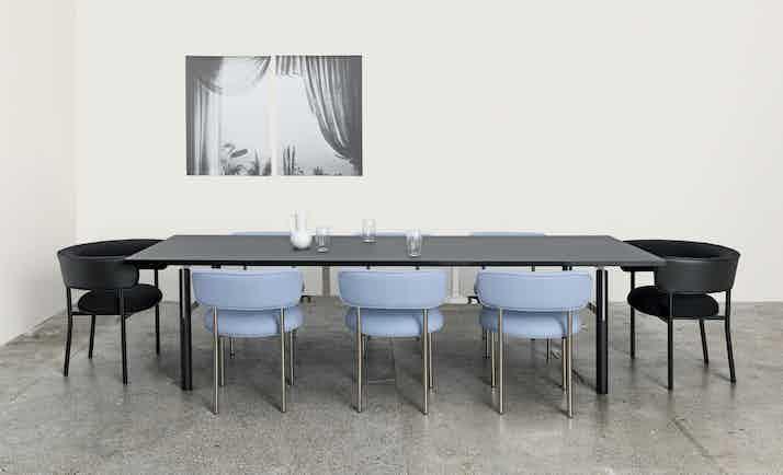 Mobel copenhagen font regular chair blue insitu haute living