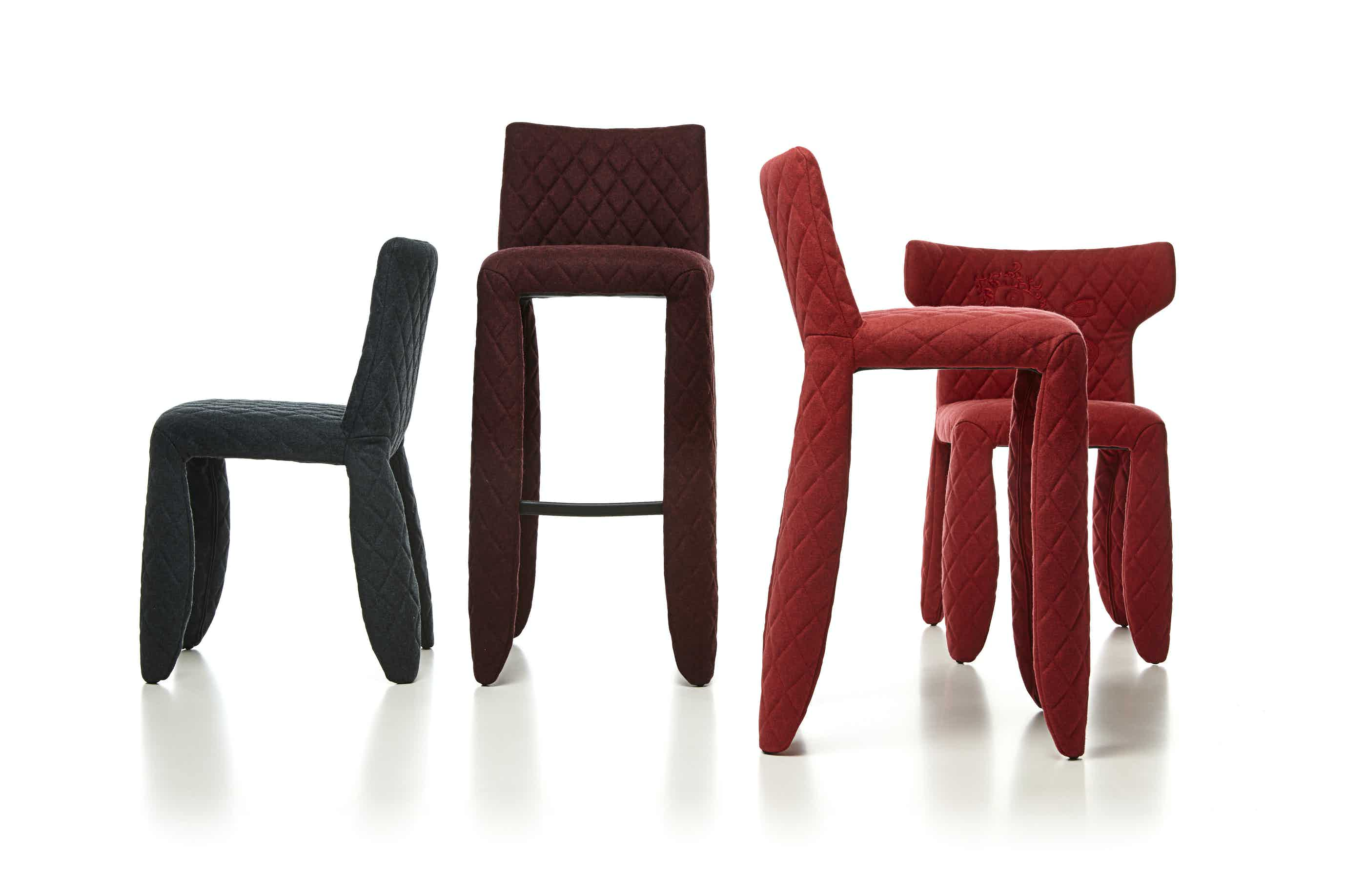Moooi monster bar stool divina melange group haute living