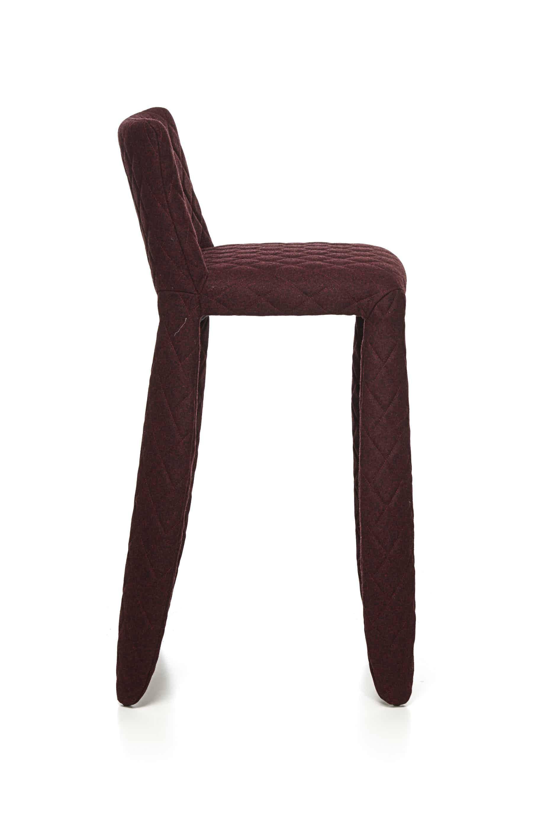 Moooi monster bar stool divina melange side haute living
