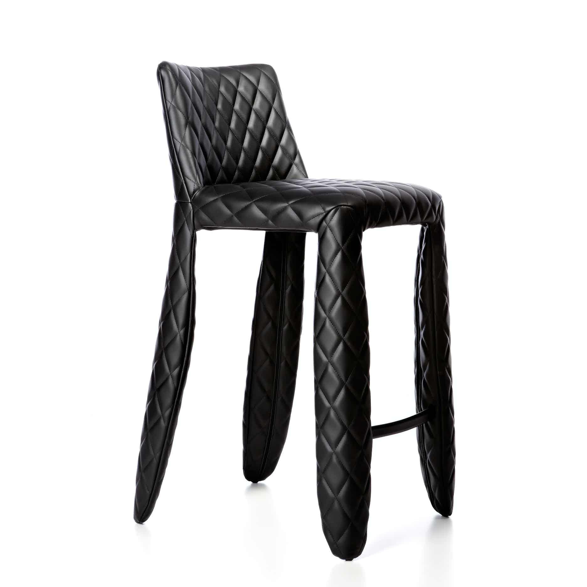 Moooi monster bar stool angle haute living