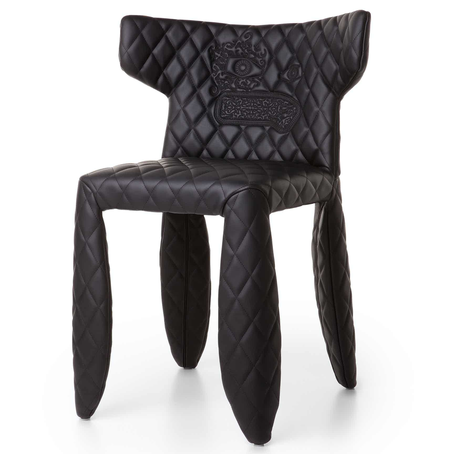 Moooi monster armchair face angle haute living