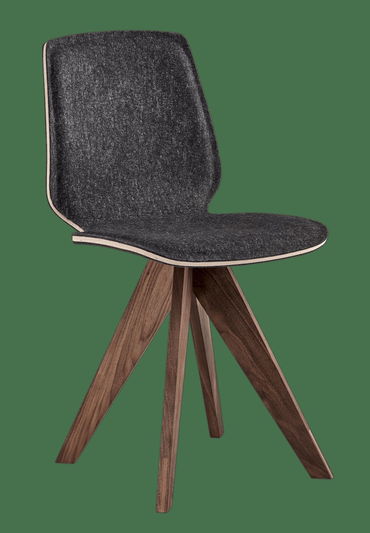 bolia black upholstered mood dining chair haute living