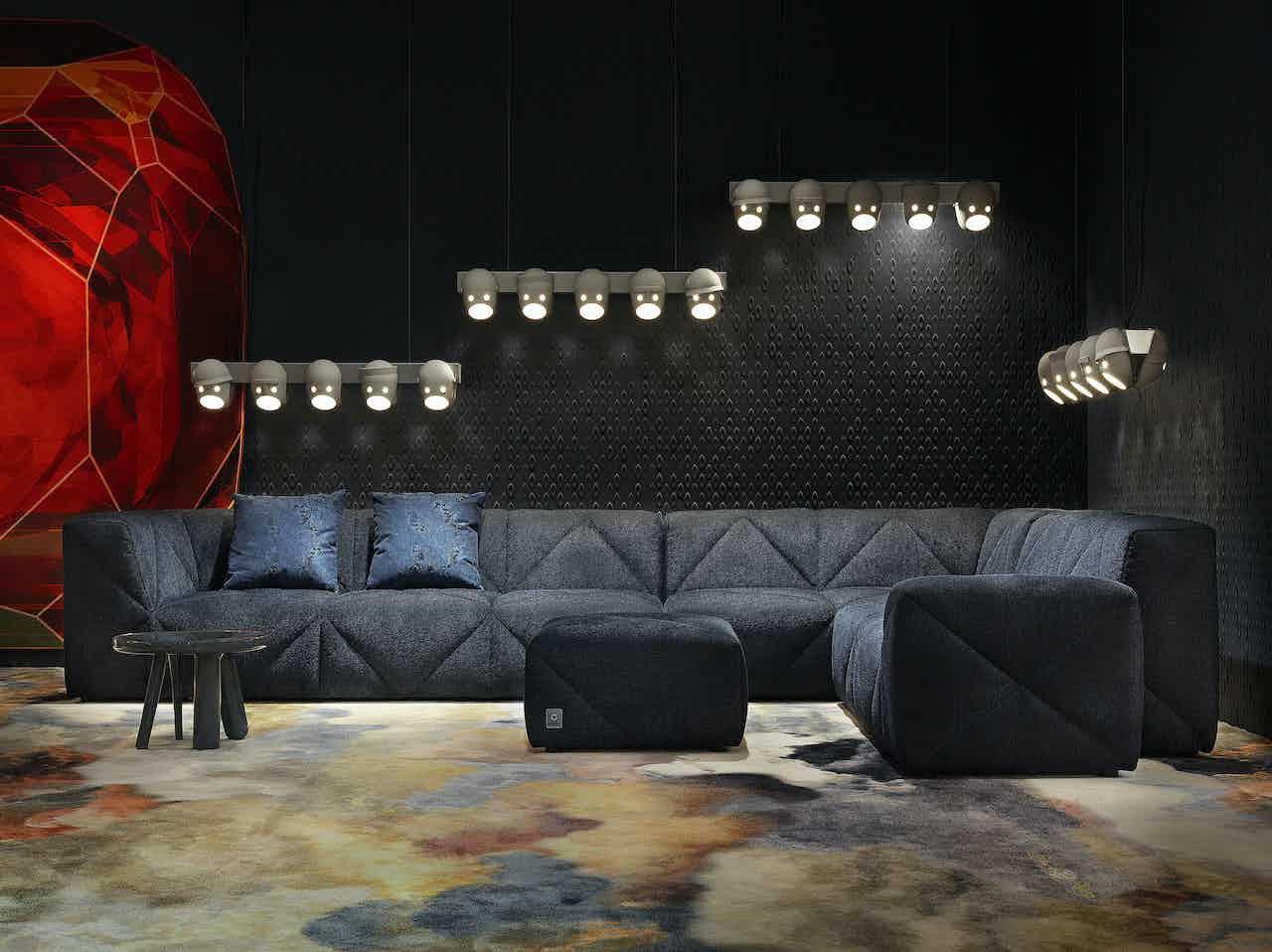 Moooi bfff sofa navy