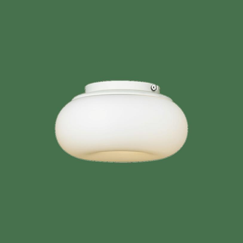 Ago lighting small mozzi cream lit haute living