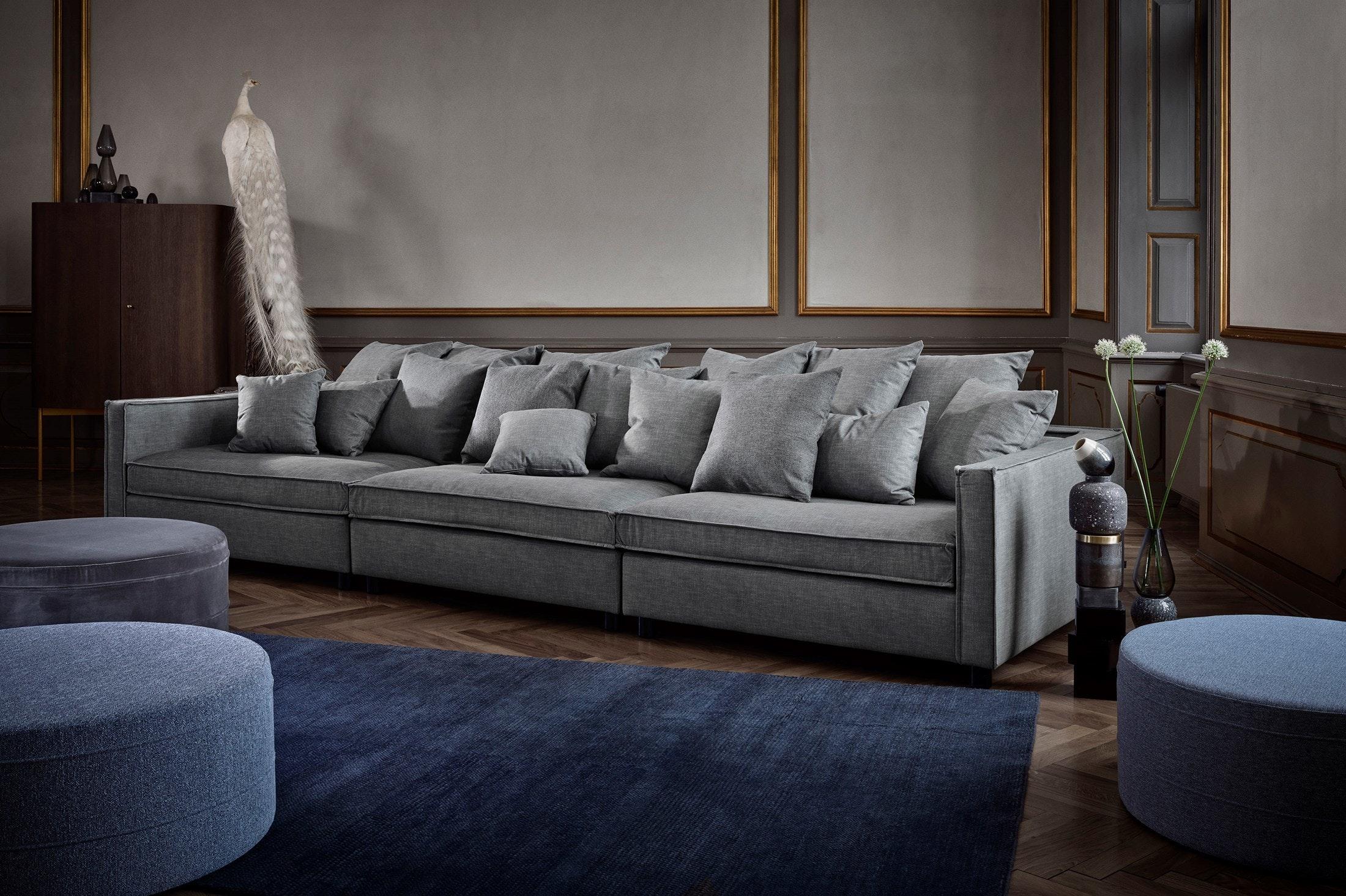 Superbe ... Bolia Grey Mr Big Sofa Insitu Haute Living ...