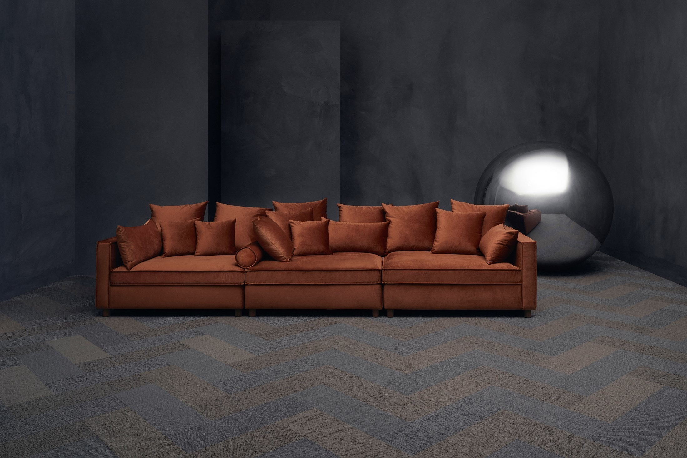 Bolia Orange Mr Big Sofa Haute Living ...