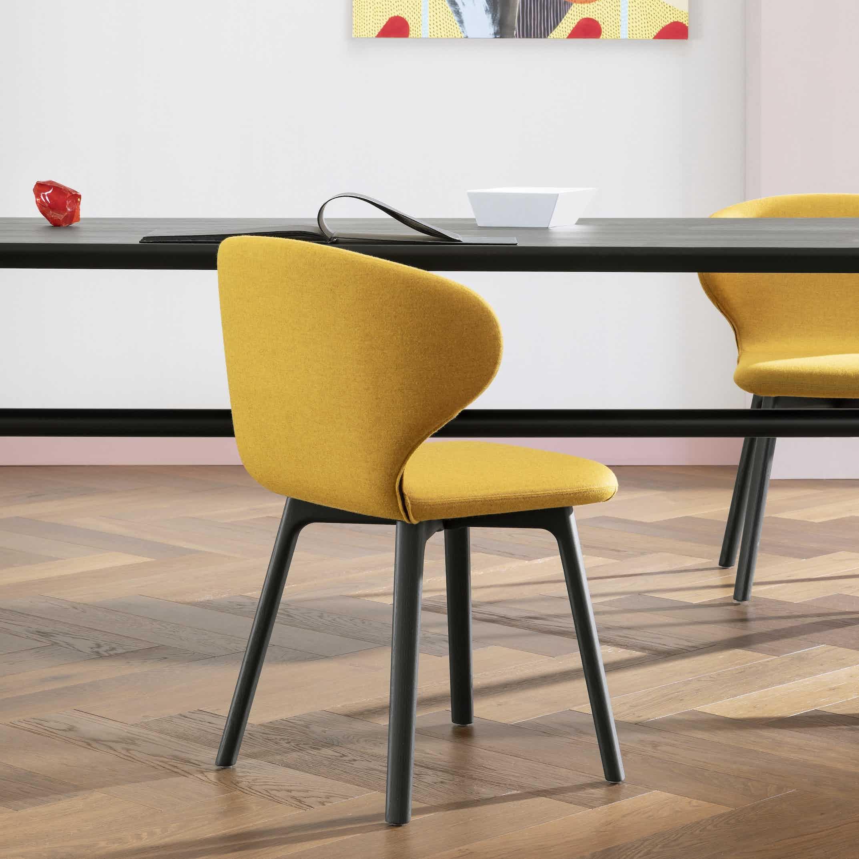 Miniforms Mula Chair Wood Haute Living