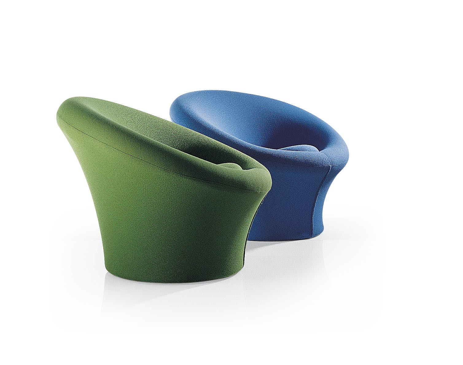 Artifort Mushroom Chair Pair Side