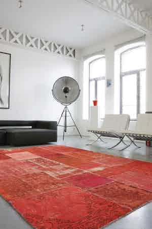Limited Edition Rugs Mystic Rug Red Insitu Haute Living