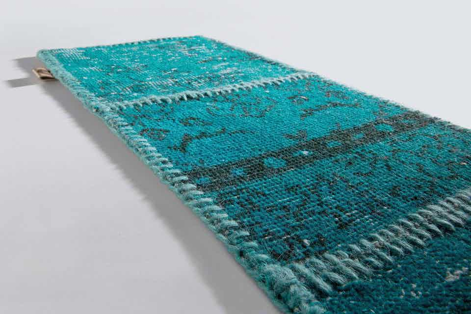 Limited Edition Rugs Mystic Rug Turquoise Green Haute Living