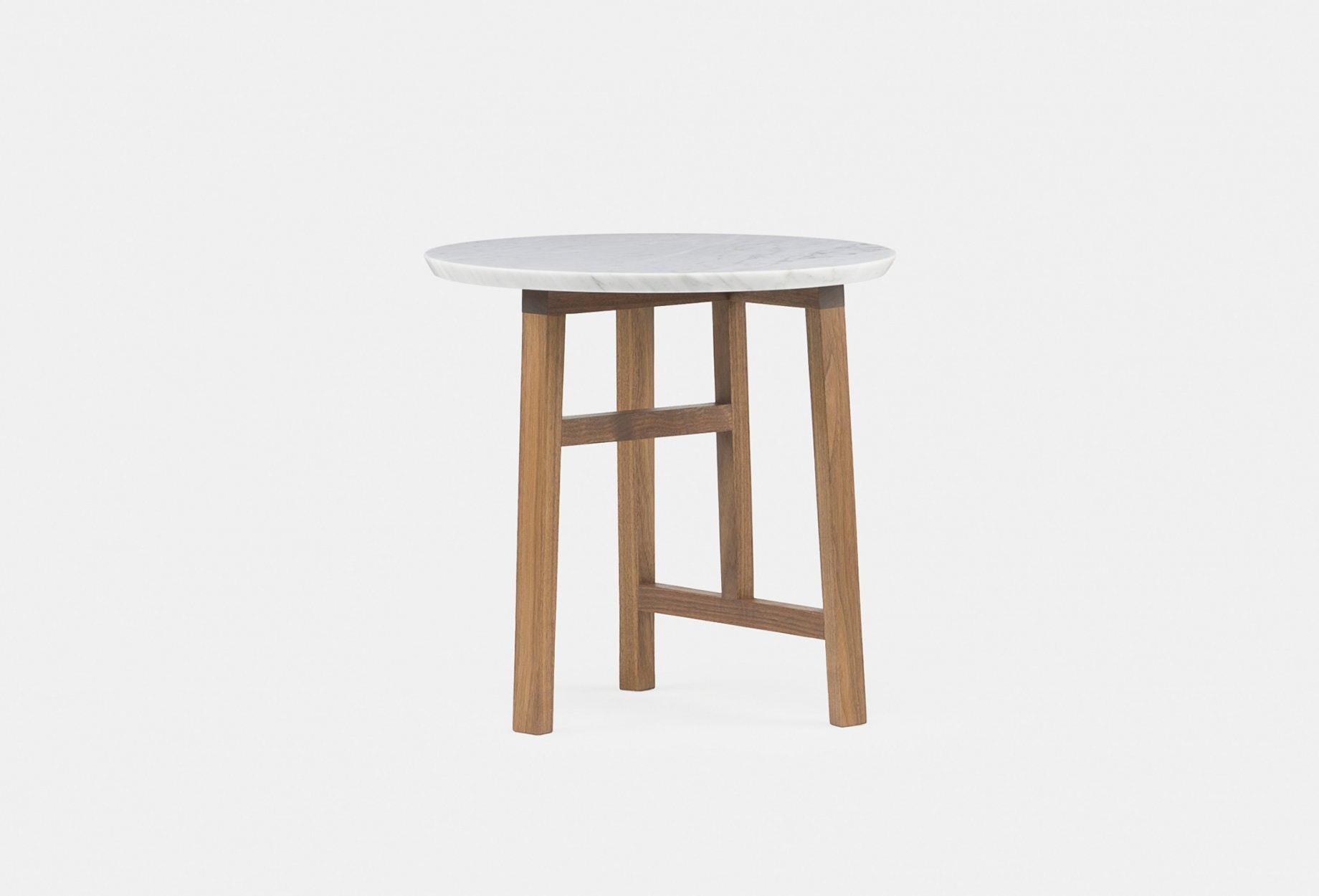 Trio Side Table By Neri Hu In Walnut And Marble3Web 1840X1250