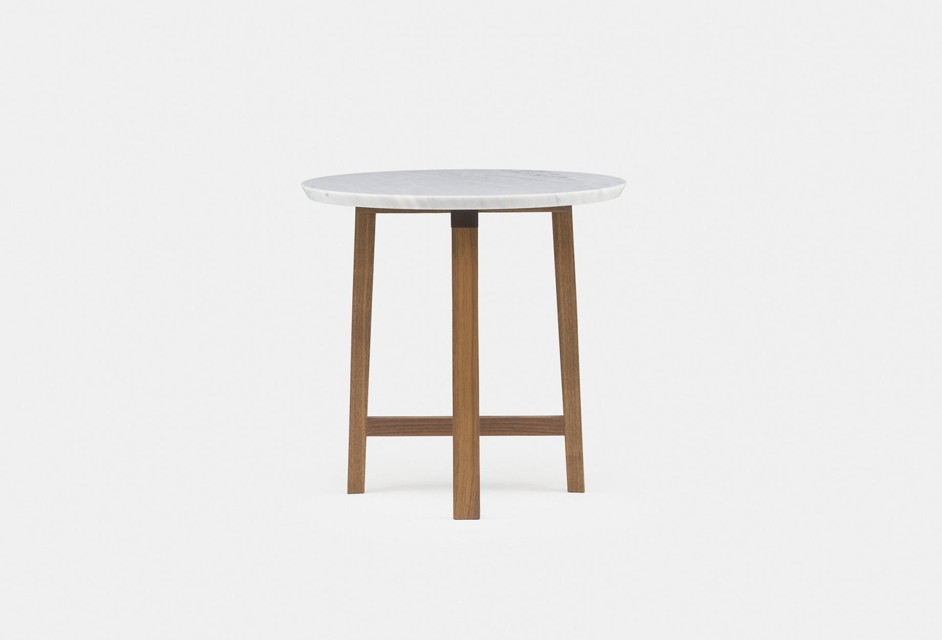 Trio Side Table By Neri Hu In Walnut And Marble4Web 1840X1250
