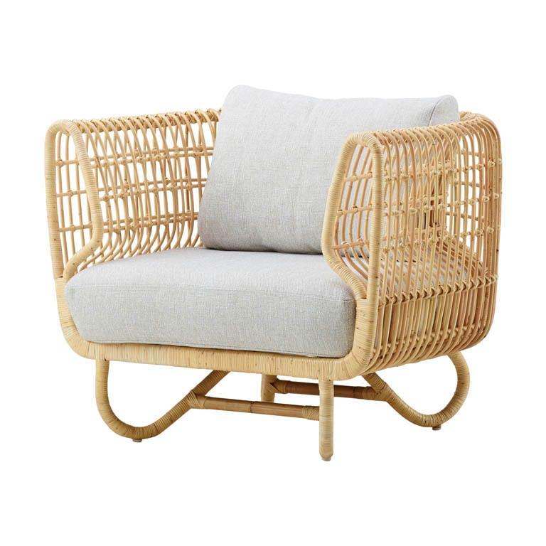 Nest Club Chair Rattan Natural 7421 Ru