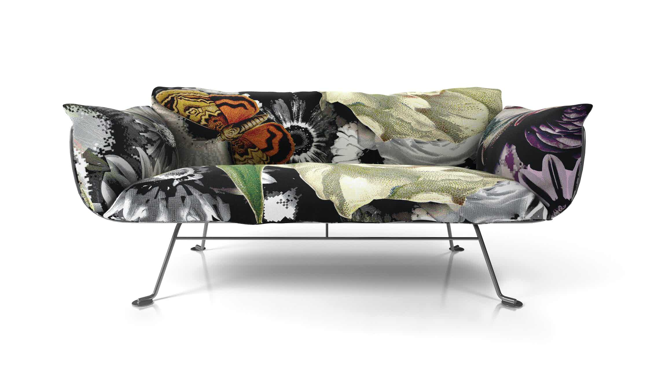 Nest Sofa Flower Bits By Marcel Wanders For Moooi Moooi 300Dpi Moooi
