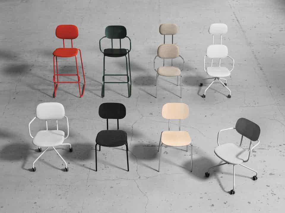 Mdd furniture new school seating assorted haute living