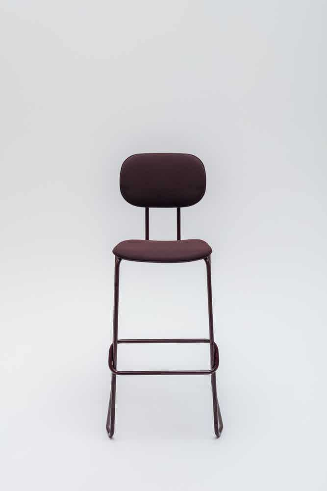 Mdd furniture new school seating barstool front haute living