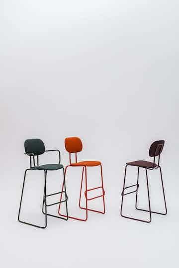 Mdd furniture new school seating barstool trio haute living