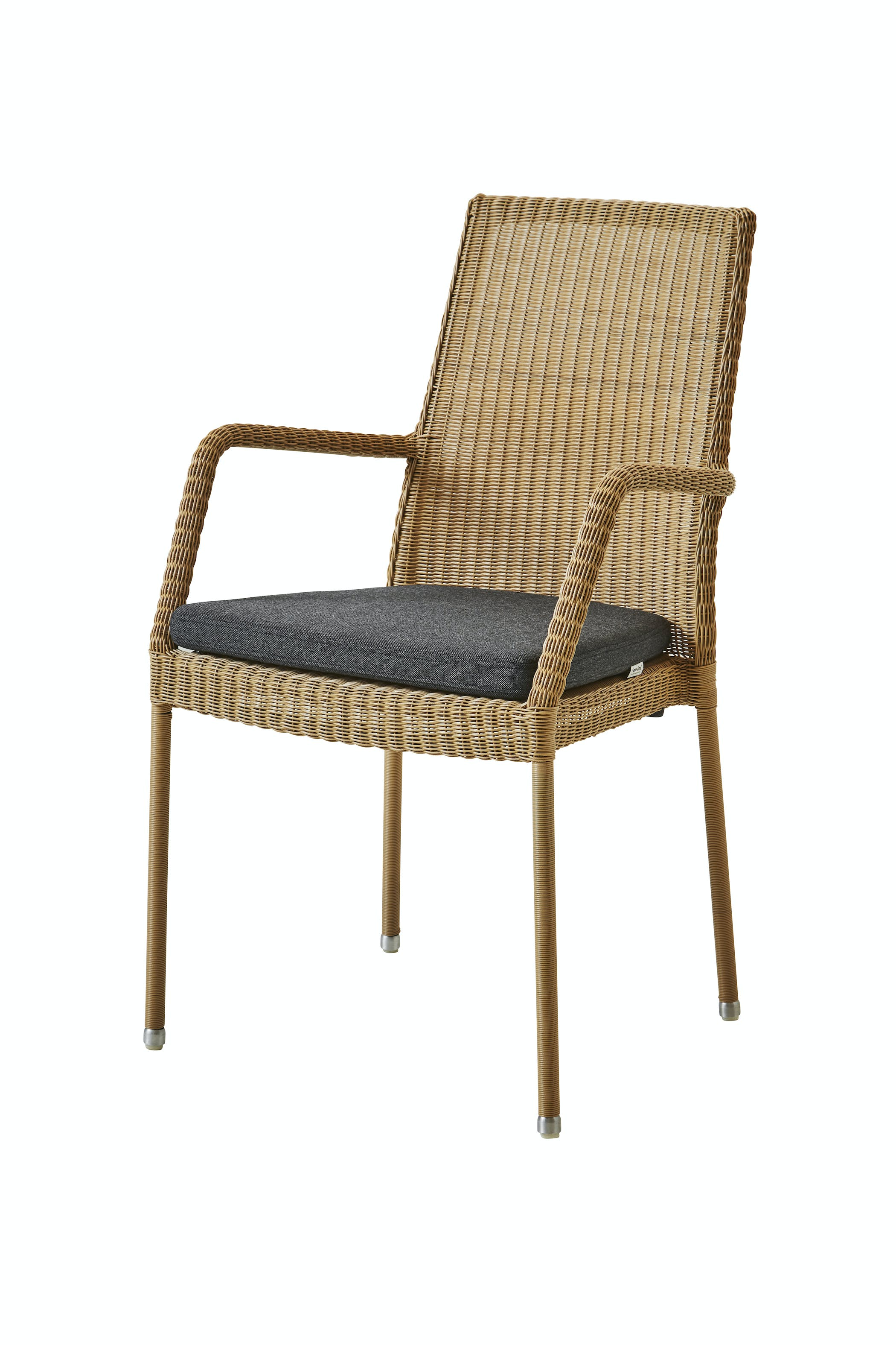 Newman Armchair Natural Black Ysn98
