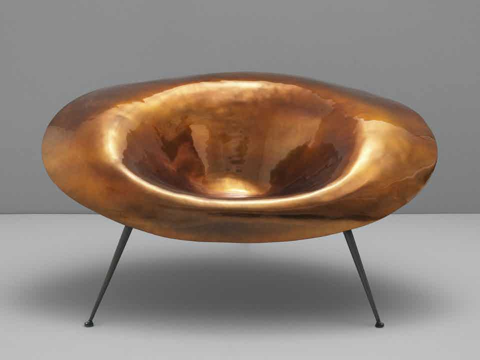 Imperfetto-lab-bronze-nido-chair-haute-living