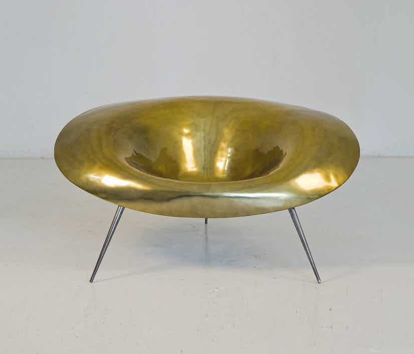 Imperfetto-lab-gold-front-nido-chair-haute-living