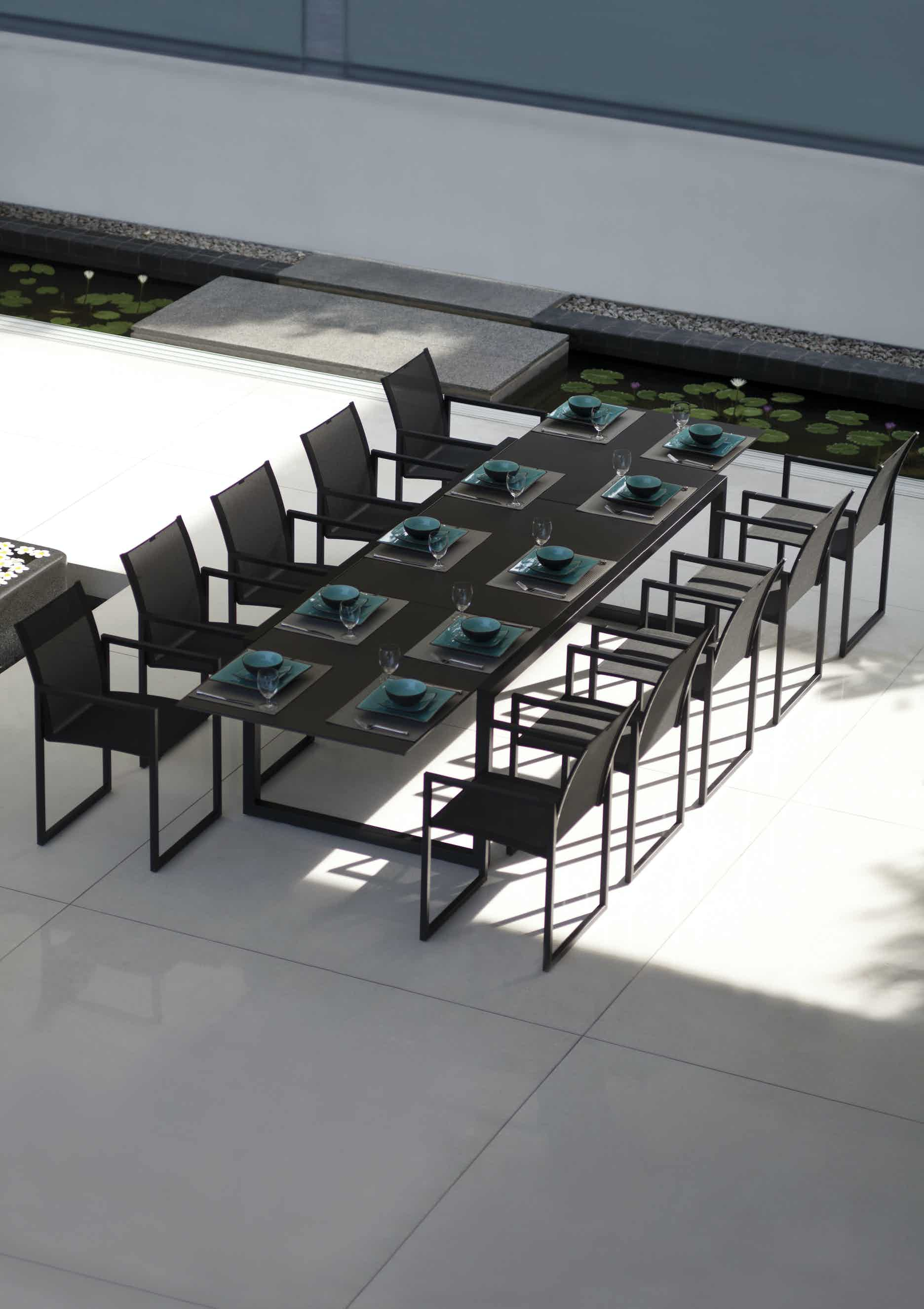 Royal Botania Ninix Armchair Black2 Insitu Haute Living