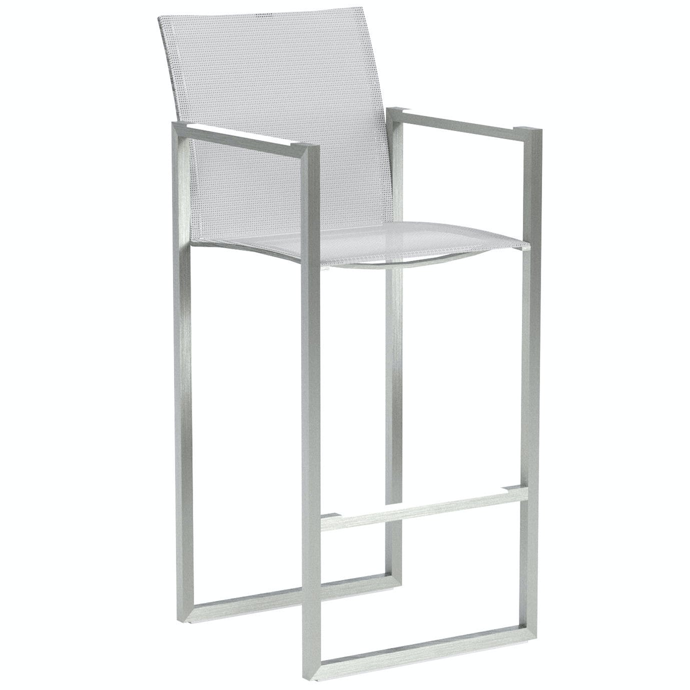 Royal Botania Ninix Bar Stool White Haute Living