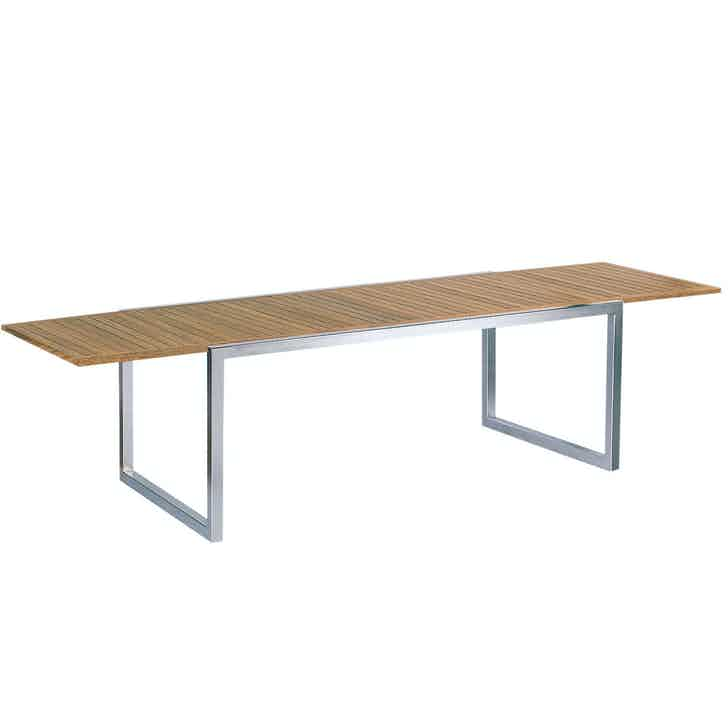 Royal Botania Ninix Extendable Table Wood Haute Living