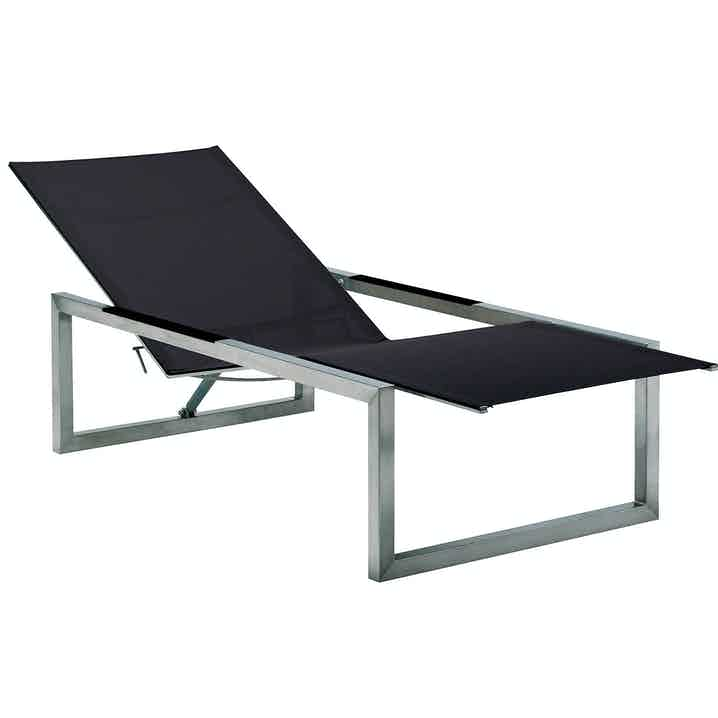 Royal Botania Ninix Lounger Black Haute Living