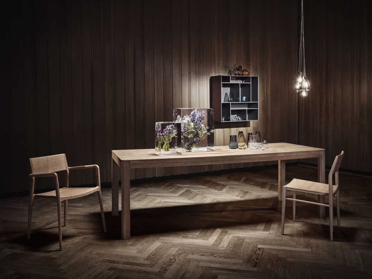 bolia node dining table insitu haute living