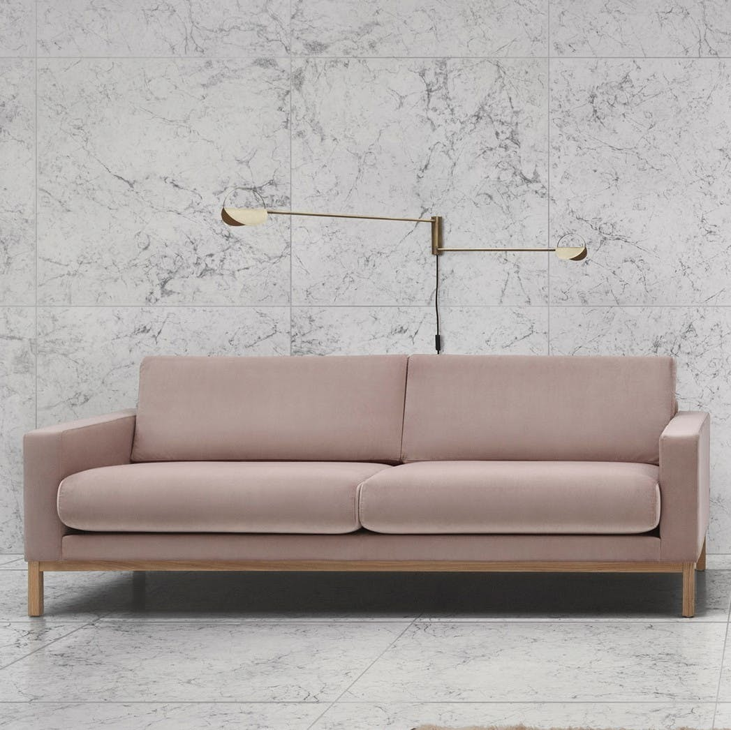 Bolia Pink North Sofa Insitu Haute Living