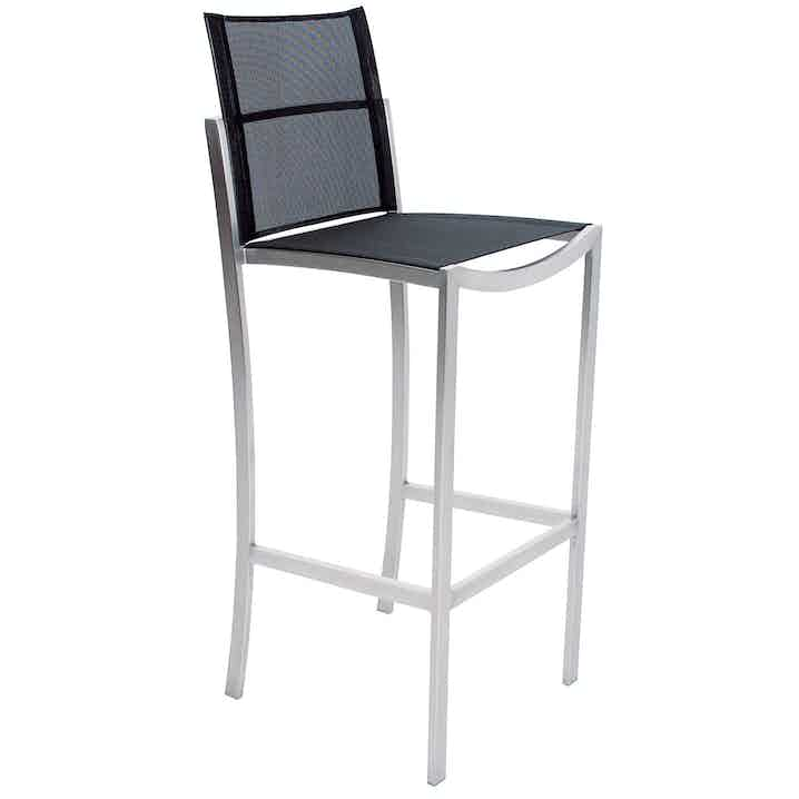 Royal Botania O Zon Bar Chair Black Haute Living