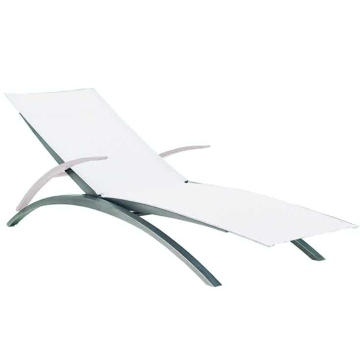 Royal Botania O Zon Lounger White Haute Living