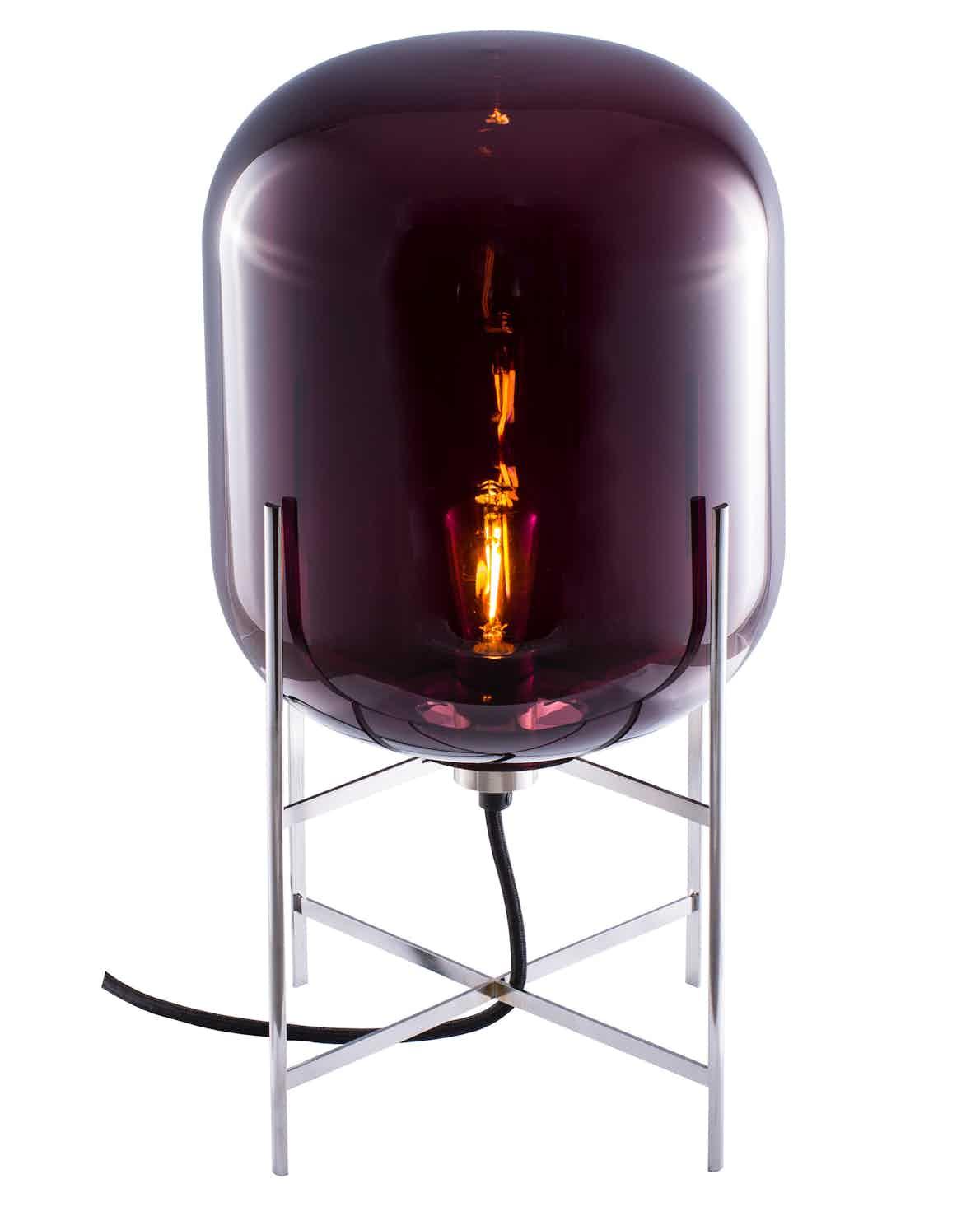 Pulpo furniture oda small purple clear haute living
