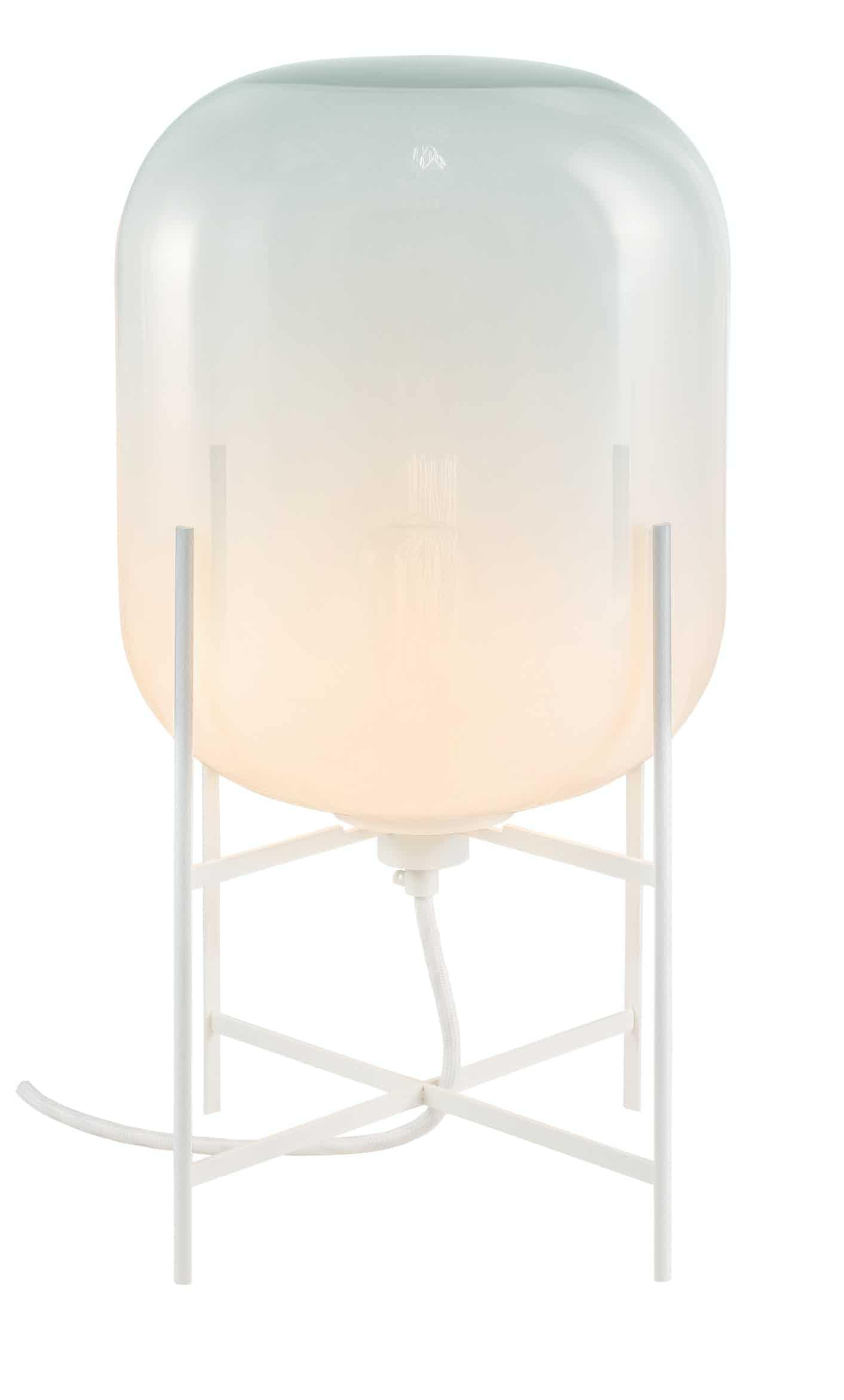 Pulpo furniture oda small white opaque haute living
