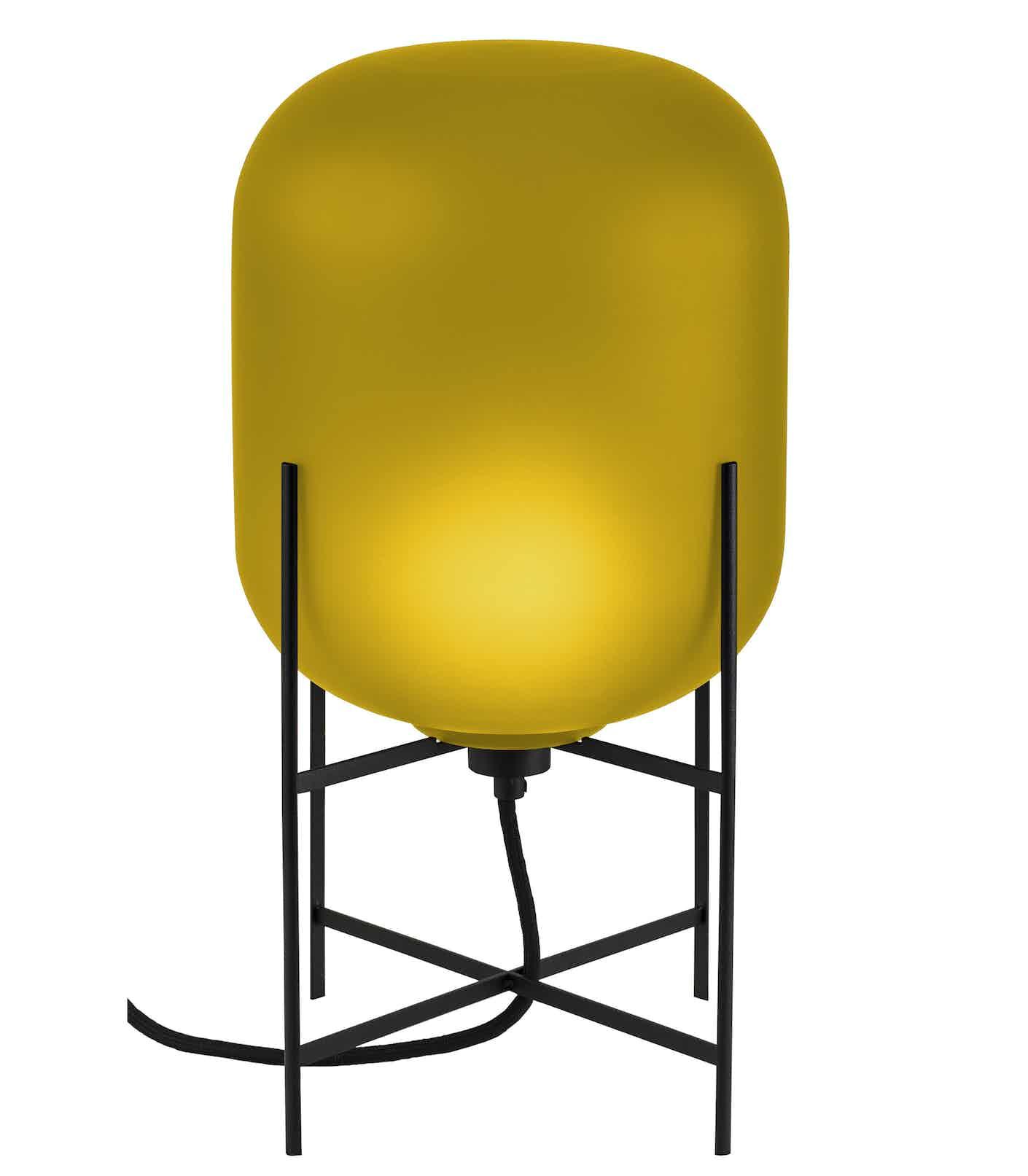 Pulpo furniture oda small yellow opaque haute living